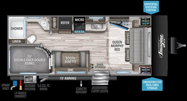 grand design imagine xls 21bhe travel trailer