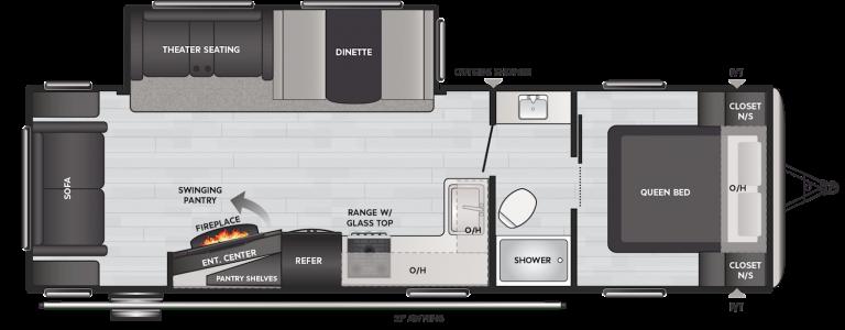 keystone springdale 285tl travel trailer