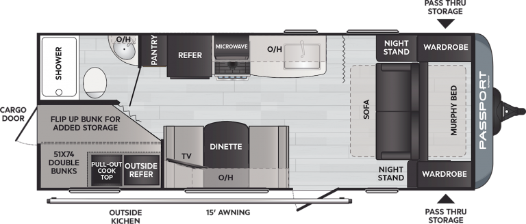 keystone passport sl 219bh travel trailer