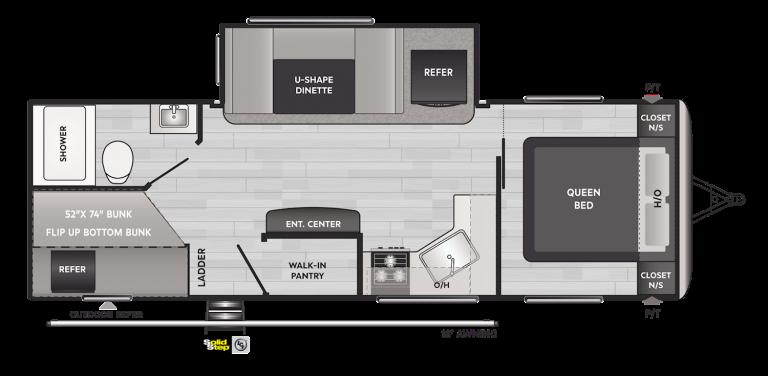 keystone springdale 251bh travel trailer
